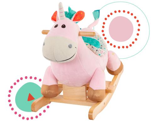 Rocking unicorn.