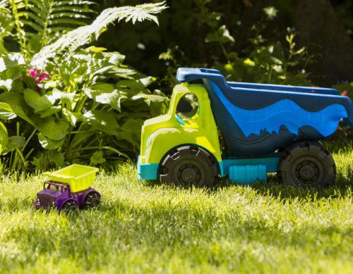 Big toy dump truck.