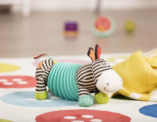 Zebra plush.