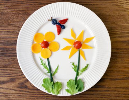 Food flowers.