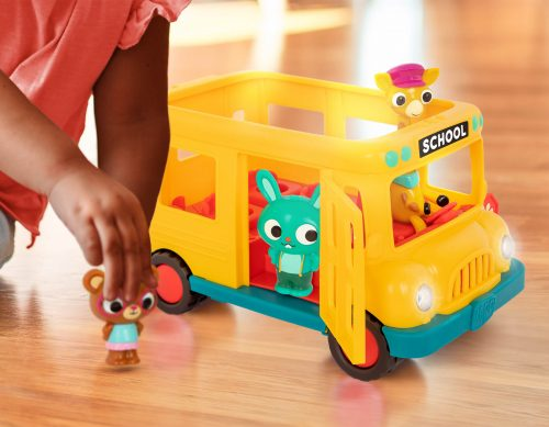 Toy school bus.