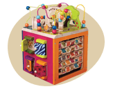 dropdown Wooden toys