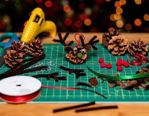 Reindeer crafts.